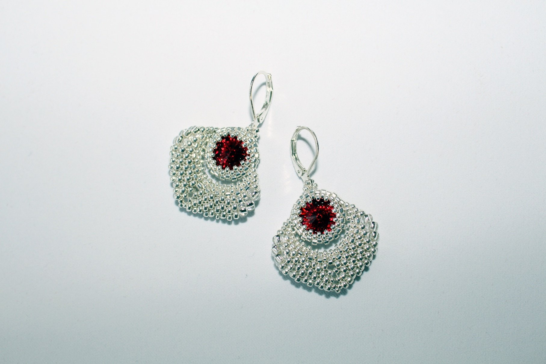 Red Scarlet Earrings